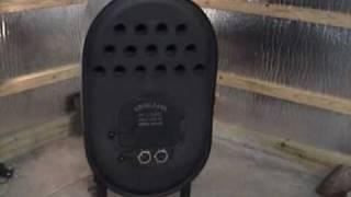 getlinkyoutube.com-Barrel Stove with heat exchanger