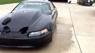 3000hp Ron Stangs twin turbo mustang waking up the neighbors