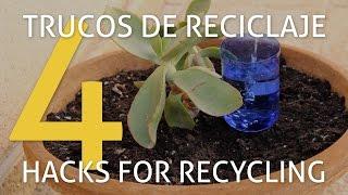 getlinkyoutube.com-4 herramientas de jardinería con objetos reciclados