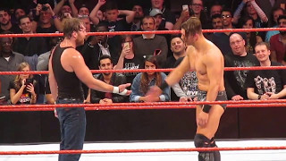Dean Dirty Deeds The Miz 3 Times (After RAW)