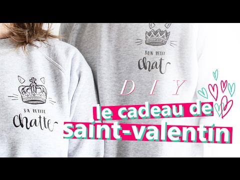 CADEAU SPÉCIAL SAINT-VALENTIN !!!! TUTO CUSTOMISATION FACILE