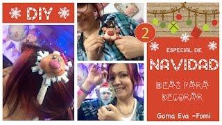 getlinkyoutube.com-KLOF - Ideas para Navidad Prendedores (broches) 💕