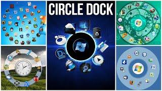 getlinkyoutube.com-Personnaliser son Pc Windows avec Circle Dock   Tuto