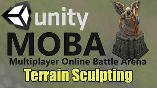 getlinkyoutube.com-How to make a MOBA in Unity - Terrain Sculpting