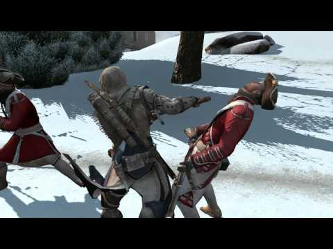 Assassin's Creed 3 - Official Weapons & Combat Trailer [UK] --gclzgM6W7w