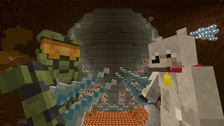 getlinkyoutube.com-Minecraft Xbox - Survival Madness Adventures - Halo Ring World [316]