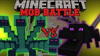 getlinkyoutube.com-ENDER DRAGON VS HYDRA - Minecraft Mob Battles - Arena Battle - Twilight Forest Mod Battles