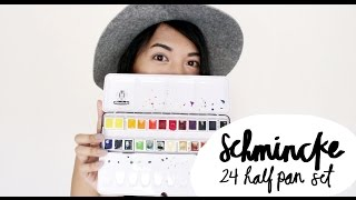 getlinkyoutube.com-Schmincke Watercolor Review | Ch▲r ▼illen▲