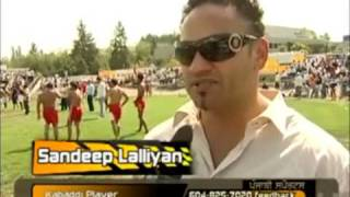 Kabaddi Super Star Sandeep Lallian's Best Raids n Interview