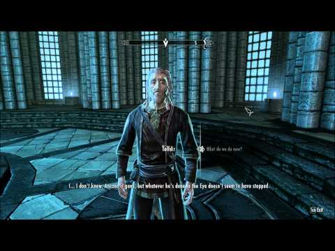 Skyrim Mage Walkthrough P76: A New Arch-Mage Ascends