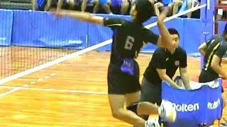 getlinkyoutube.com-バレーボール スパイク練習【駿台学園vs大塚】インターハイ2015 Volleyball Spikes High School Men's Championship Japan haikyuu