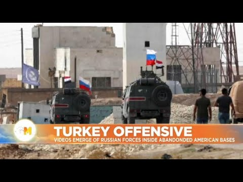 Euronews:Out with the US and in with Russia: troops take over America's abandoned Syria bases