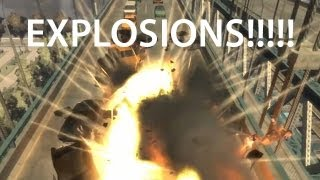 getlinkyoutube.com-GTA IV - Explosions!