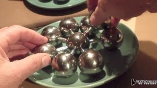 getlinkyoutube.com-Magnet-Wheel with huge Balls - Inertia - Mass -  Friction