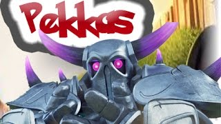 getlinkyoutube.com-Como usar los PEKKAS | Clash of clans |