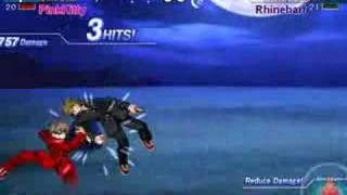 getlinkyoutube.com-Melty Blood - Shiki Tohno (PinkKitty) vs Nanaya (Rhinehart)