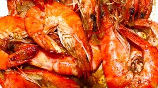 getlinkyoutube.com-How to Cook Buttered Shrimp Recipe - English