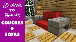 getlinkyoutube.com-Minecraft Furniture Couches