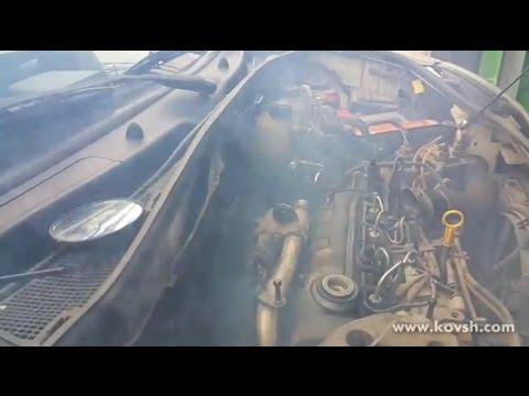 Где находится пробка слива антифриза у Тойота Превиа