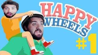 getlinkyoutube.com-Happy Wheels - Bölüm 1 - Baba Oğlunu Okula Yazdırıyor