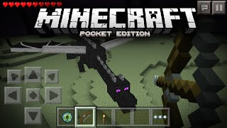 Going To The End & Killing The Ender Dragon in Minecraft Pocket Edition - MCPE Concept Video (1.0.0)