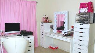 getlinkyoutube.com-Cuarto De Maquillaje/Estudio (Makeup Room Tour)
