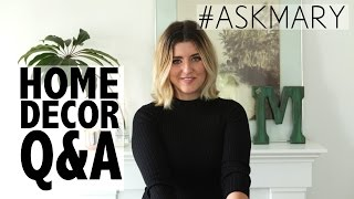getlinkyoutube.com-Home Design Q&A: Scandinavian, Modern+Antique, & Bohemian Studio #ASKMARY