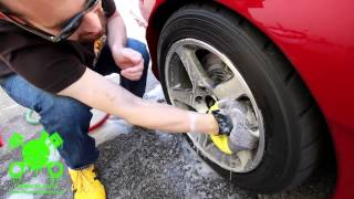 getlinkyoutube.com-How To: Wheel Cleaning Tips & Tricks - Chemical Guys Mustang SN95
