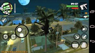 getlinkyoutube.com-How to cheat on Grand Theft Auto San Andreas for Android GTA