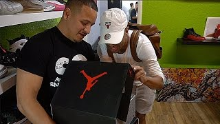 getlinkyoutube.com-VERY RARE UN RELEASED 2017 JORDANS!!! | I GOT SUM HEAAATTTT!!! VLOG