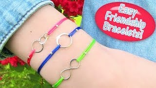 DIY Friendship Bracelets EASY