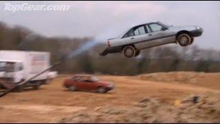 getlinkyoutube.com-Top Gear : Car Darts!! - Top Gear - Series 4 - BBC