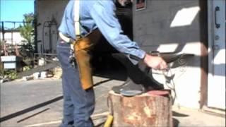 getlinkyoutube.com-Blacksmith Anvil Restoration Part 1 of 2