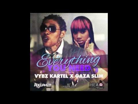 Vybz Kartel Ft Gaza Slim - Everything You Need [Raw] Nov 2012