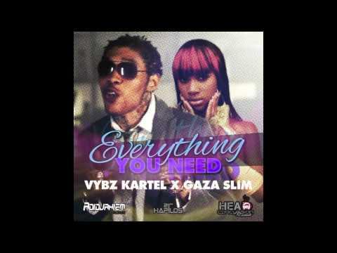 Vybz Kartel Ft Gaza Slim - Everything You Need [Raw] Nov 2012