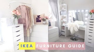 IKEA MALM DRESSING TABLE & FURNITURE GUIDE | Lucy Jessica Carter width=