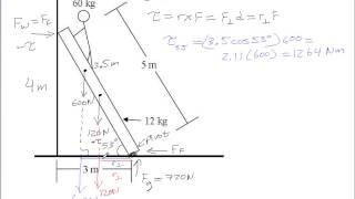 getlinkyoutube.com-Ladder Example for Static Equilibrium