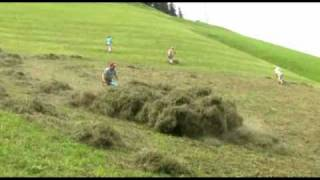Landwirtschaft in steilen Lagen