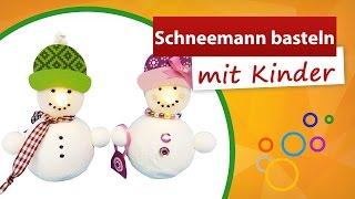 getlinkyoutube.com-⁂ Schneemann basteln mit Kindern ⁂ Teelicht Dekoration - trendmarkt24