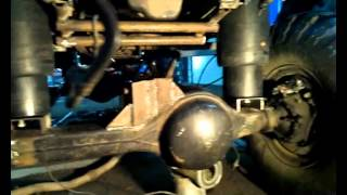 getlinkyoutube.com-ПневмоПодушки тойота 4раннер+мосты газ-66 offroad 4x4