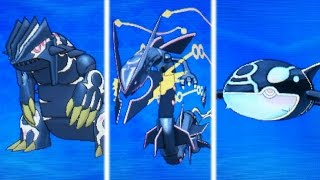 getlinkyoutube.com-Shiny Primal Groudon,Kyogre,and Mega Rayquaza UNITE! (Pokemon Omega Ruby & Alpha Sapphire)