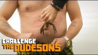 Live Crabs Into Pants! - The Dudesons