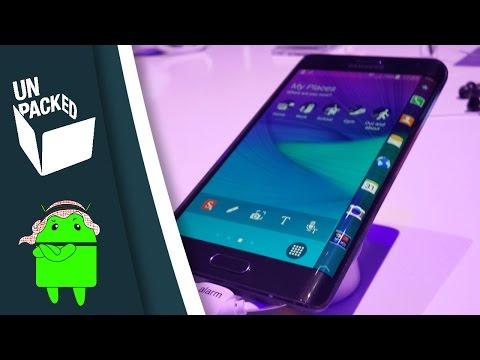 نظرة سريعة على النوت إيدج | Samsung GALAXY Note Edge First look