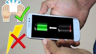 إشحن هاتفك باستعمال يدك فقط - بدون كهرباء