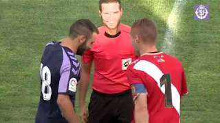 REAL VALLADOLID, 2 - RAYO VALLECANO, 0 (ÍSCAR, 08-08-2018)
