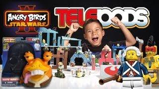 TOTAL TELEPOD SET DESTRUCTION & Darth Vader Pig CARRYING CASE - Telepods Week - Day 8