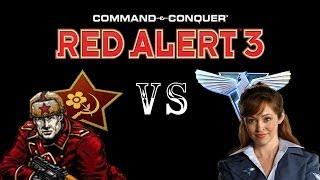 getlinkyoutube.com-Command & Conquer Red Alert 3: Brutal Lissette VS The Soviets (Skirmish)