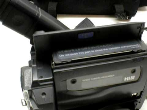 sony ccd trv58 video camera recorder 8mm support and manuals