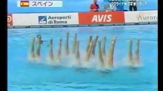 Led Zeppelin & Spanish Team Synchronized Swimming