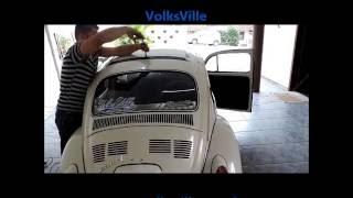 getlinkyoutube.com-Instalação RagTop Fusca 77 Joinville